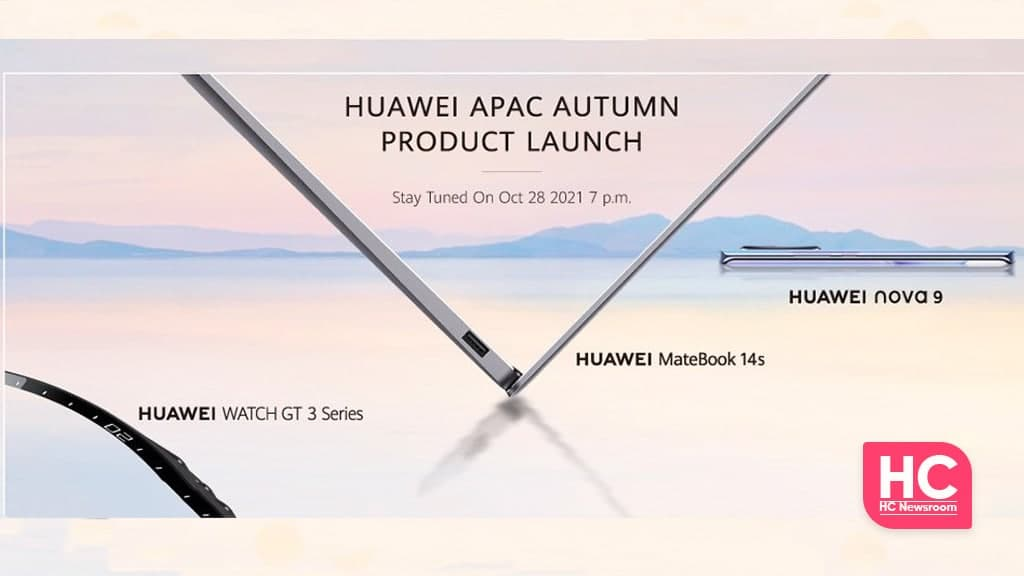 Huawei Autum launch event Malaysia