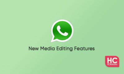 WhatsApp media editing features