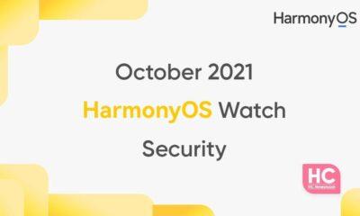 October 2021 HarmonyOS smartwatches security