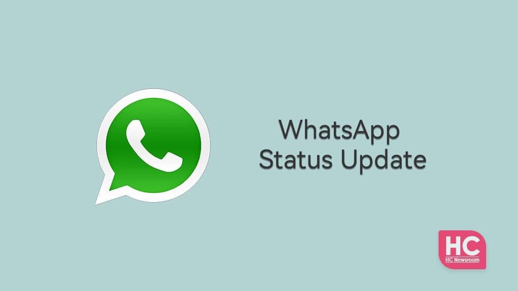 WhatsApp Status Update